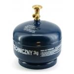 Dujų balionas 2 kg (buitiniu ventiliu)